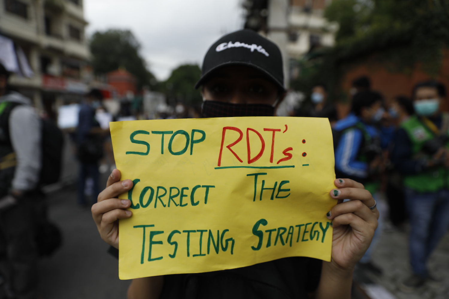 Stop rapid testing now