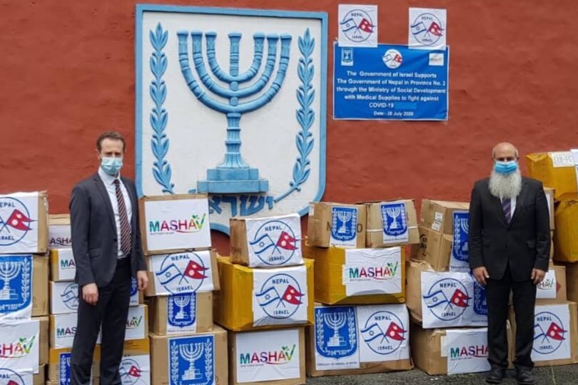 Israeli Embassy dispatches COVID-19 medical supplies