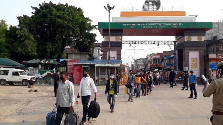 Heightened COVID-19 risk at India-Nepal border