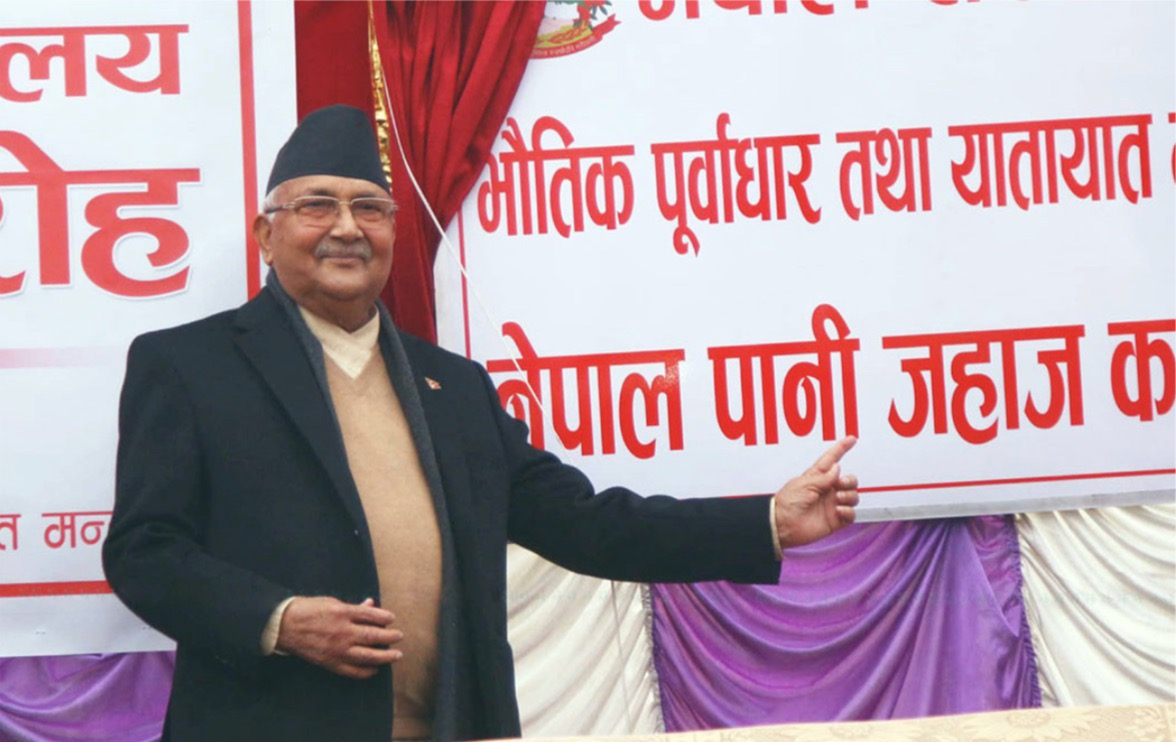 At midpoint, Nepal PM struggles to deliver