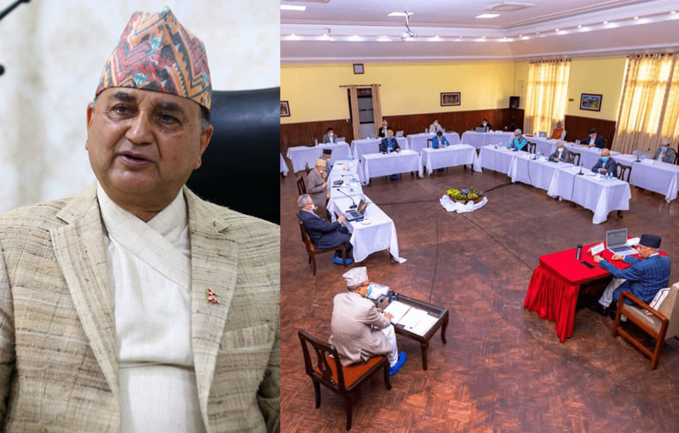Who is in charge in Nepal?