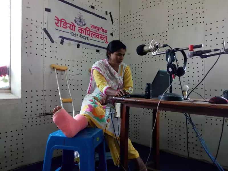 How a rural radio thrived in Nepal lockdown