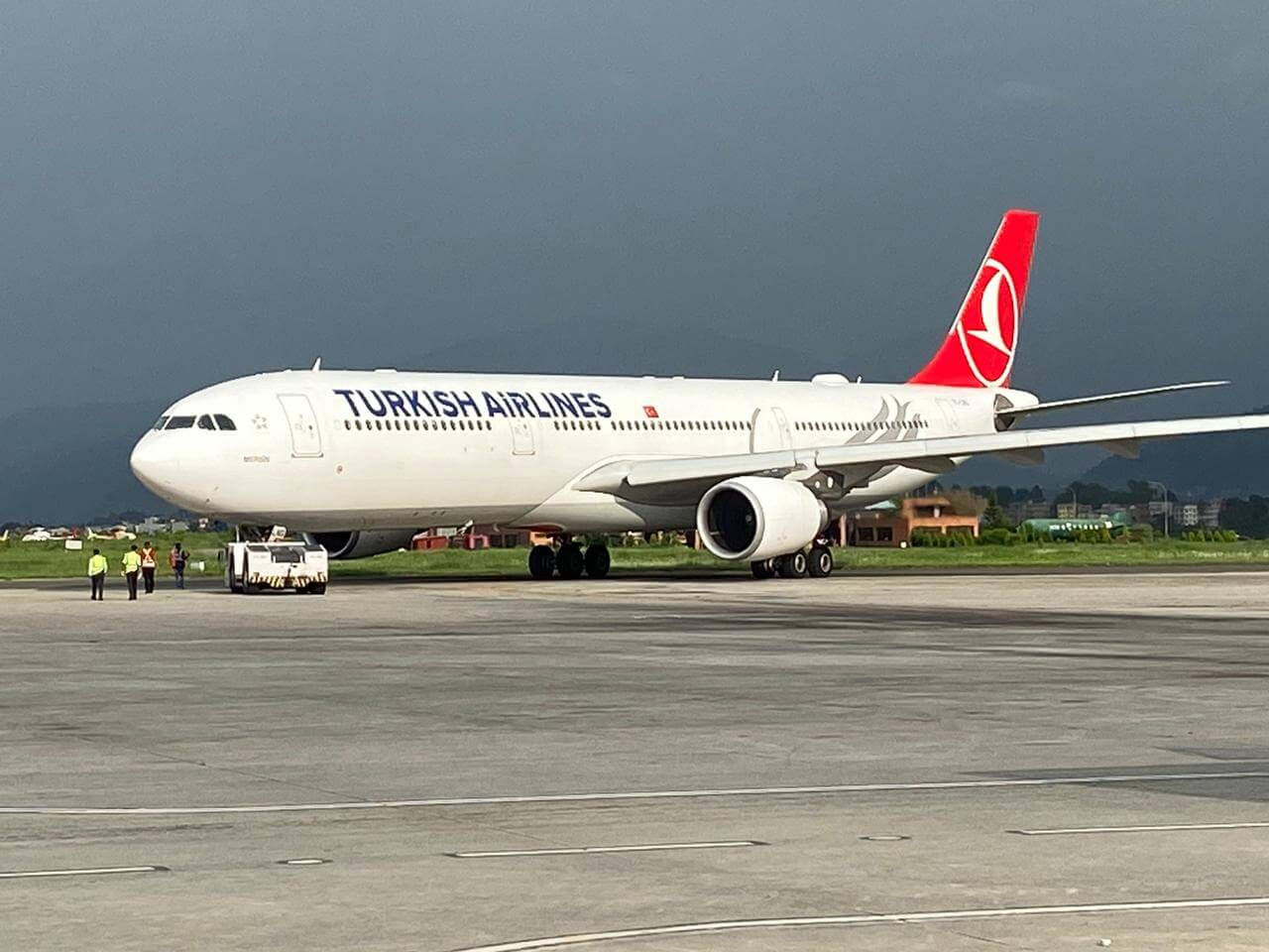 Flights to Nepal limited by airport capacity