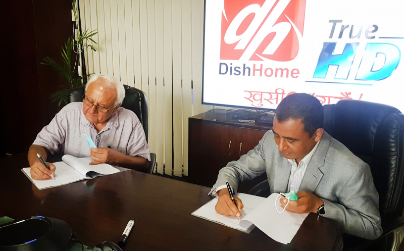 Dish Home and Himalmedia to collaborate