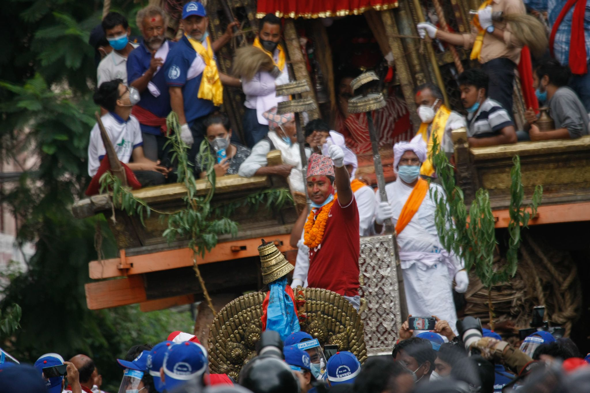 Machindranath festival resumes