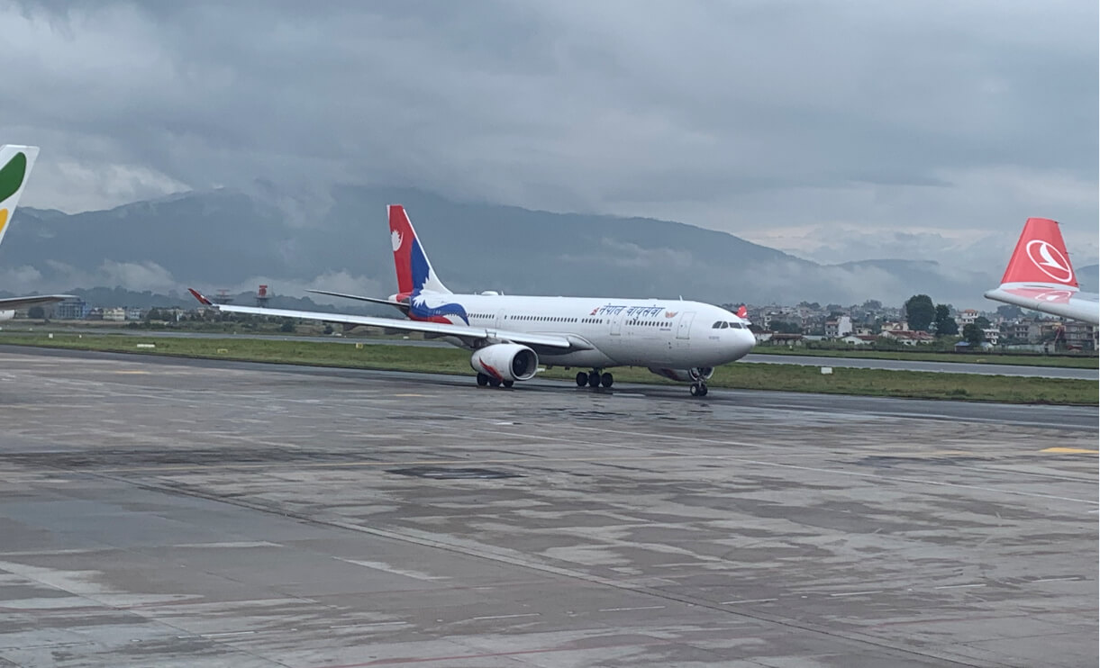 Unlimited flights to Nepal from 1 October