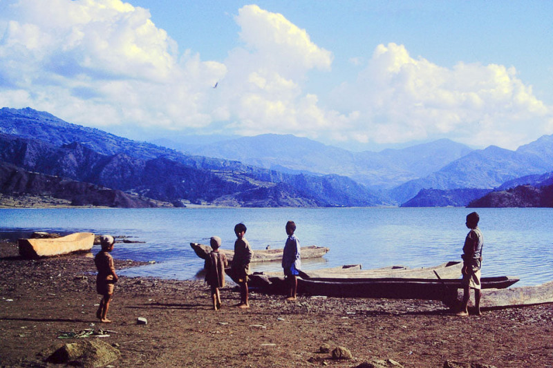 Pokhara, six decades ago