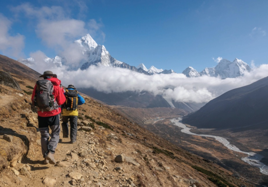 Everest Trail repaired during pandemic