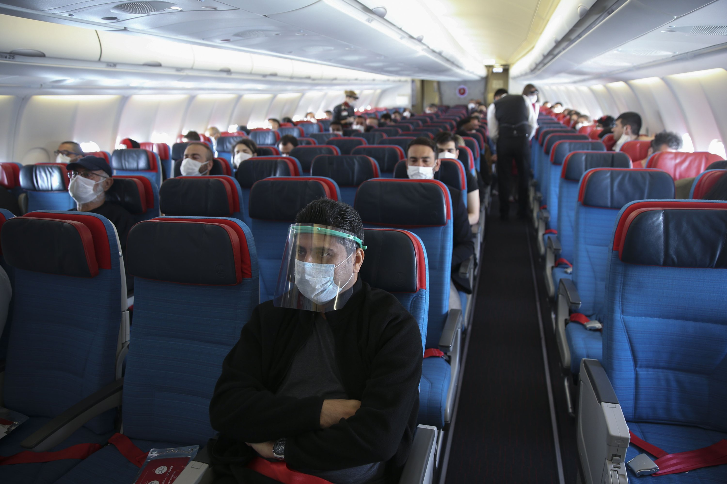Flying home in a pandemic