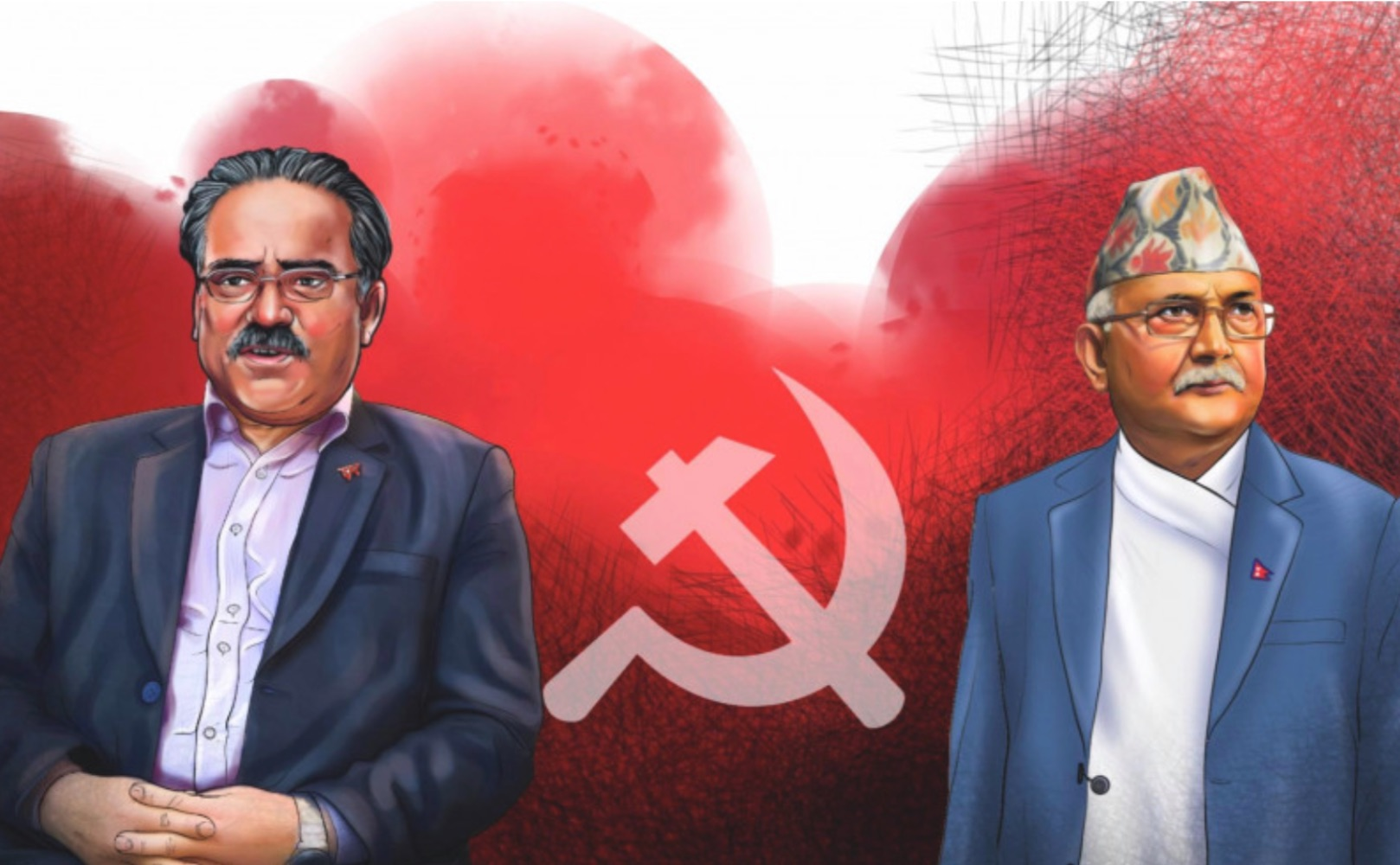 Nepal's 1-Party-2-Central Committees system
