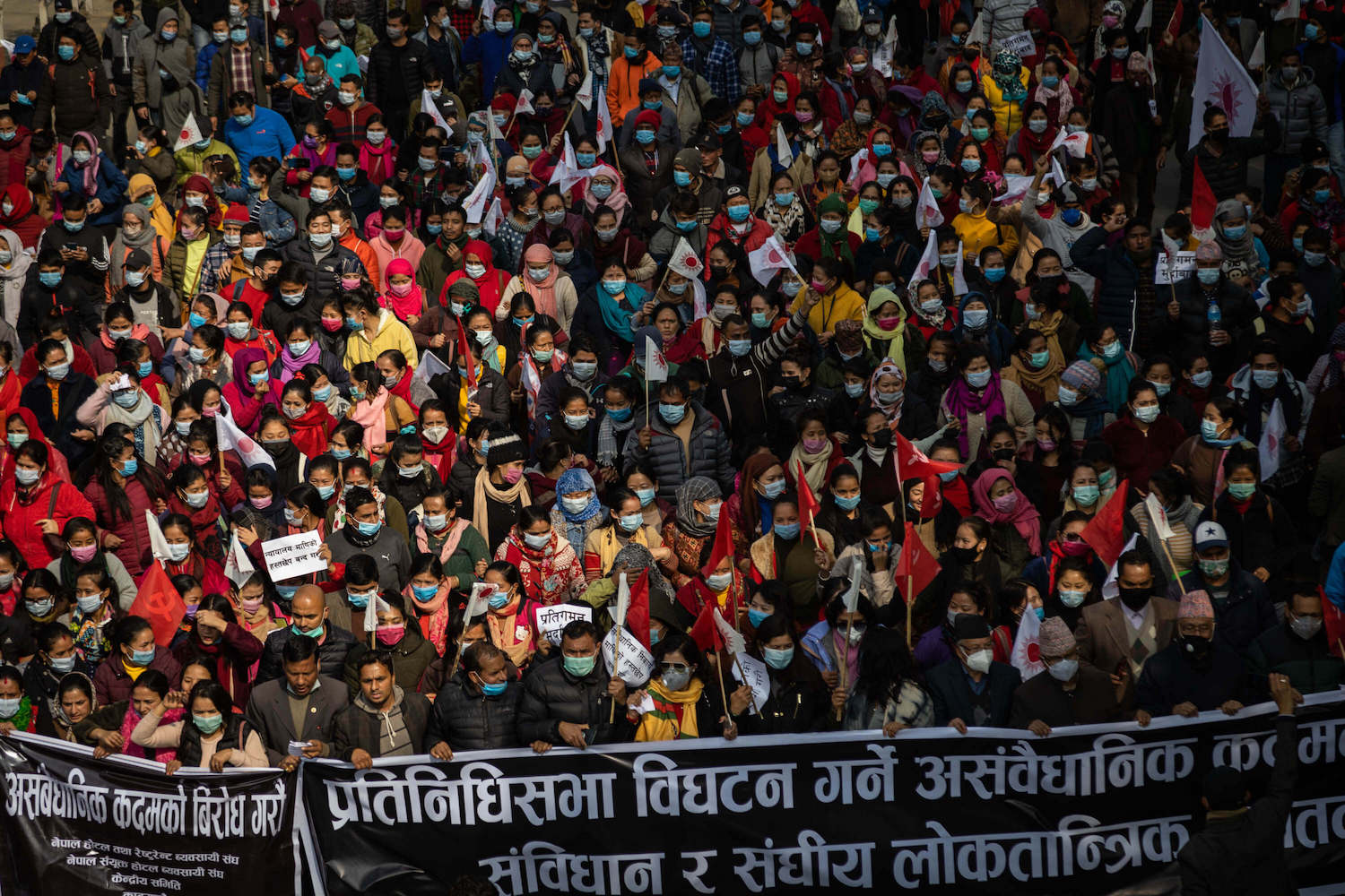 Dahal-Nepal hold anti-Oli rally