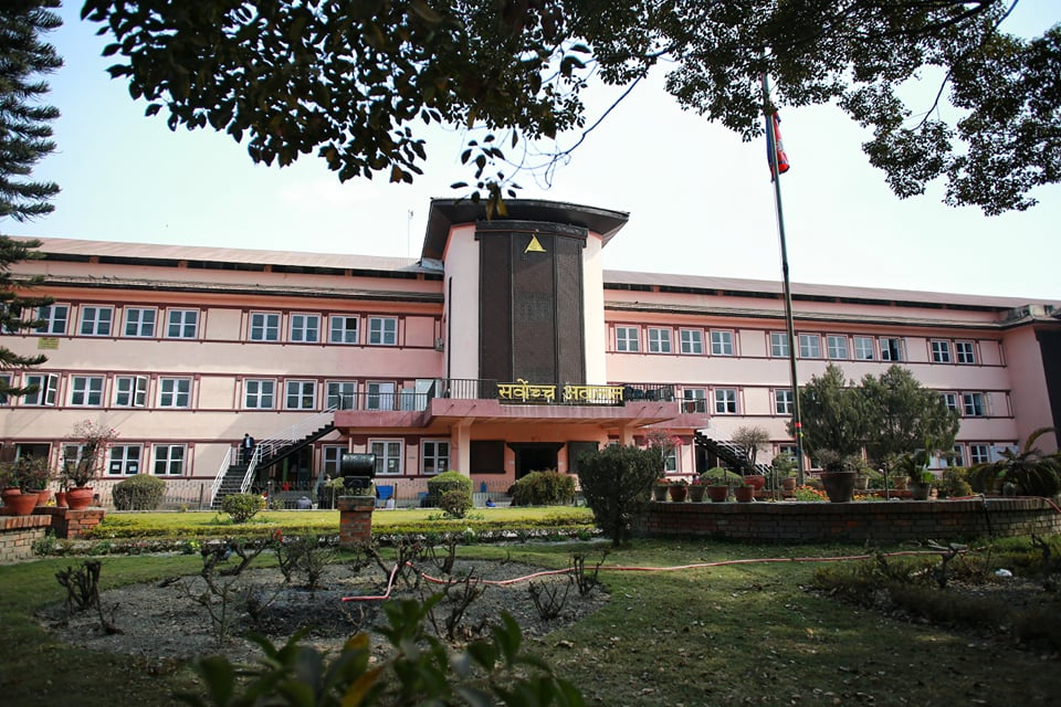 Legal path to new Nepal government