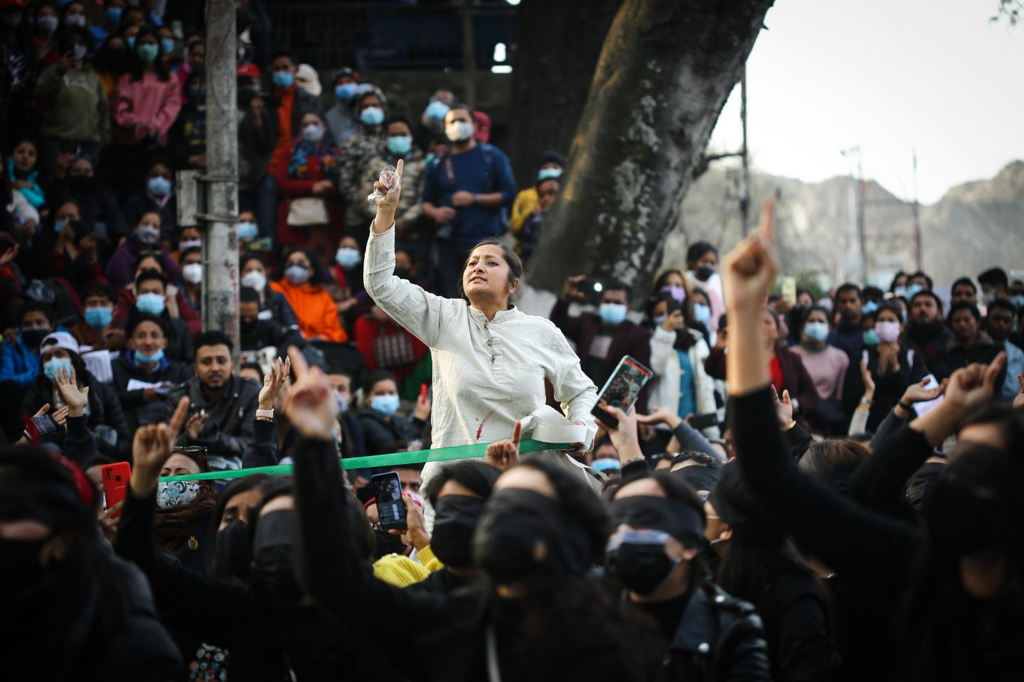 More anti-government rallies in Nepal