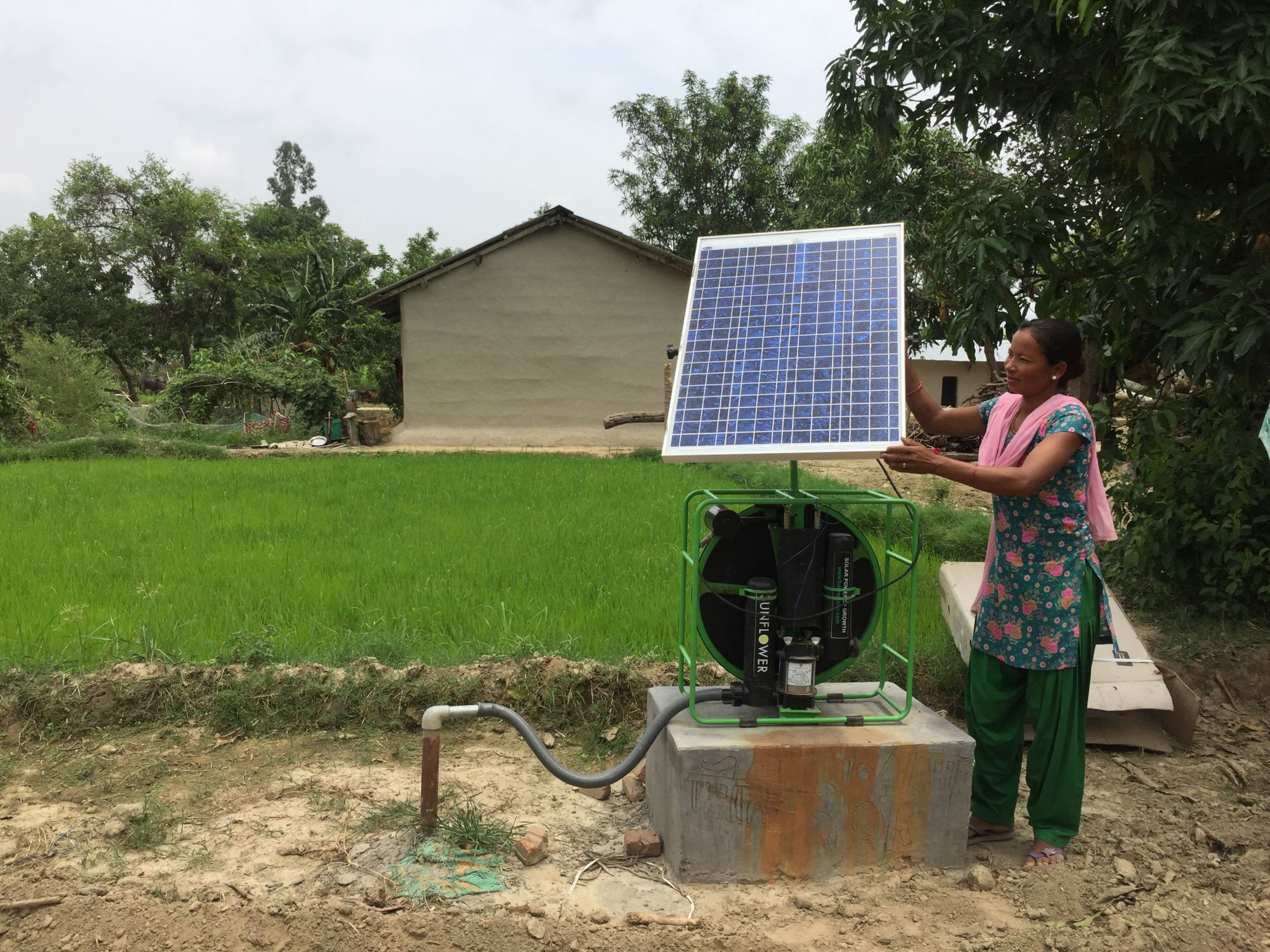 Harnessing the sun to pump water