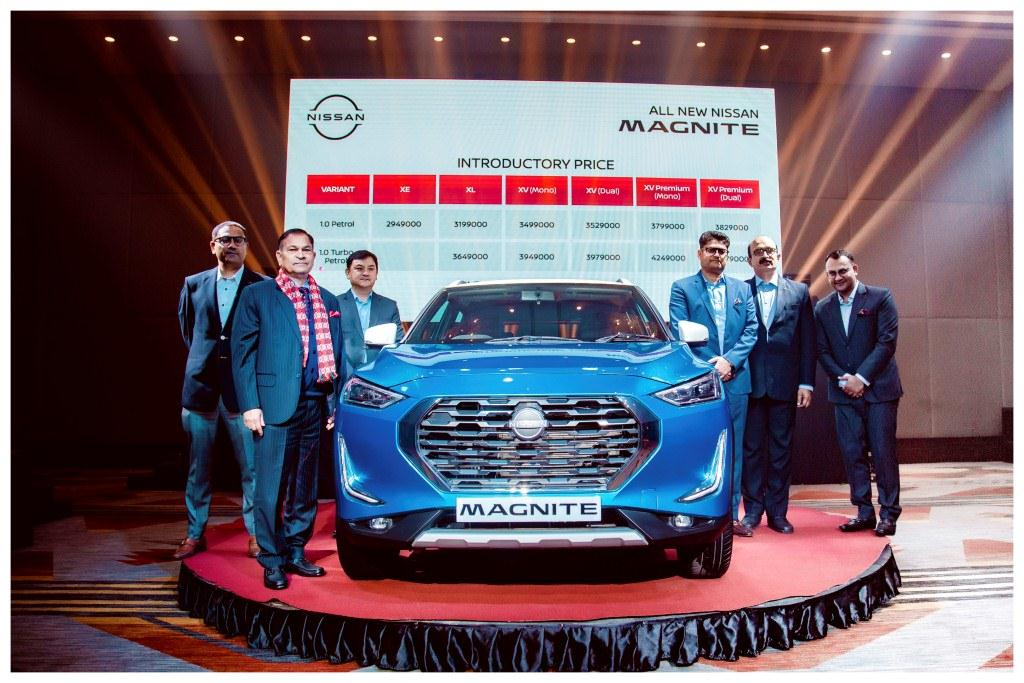 New Nissan Magnite launched