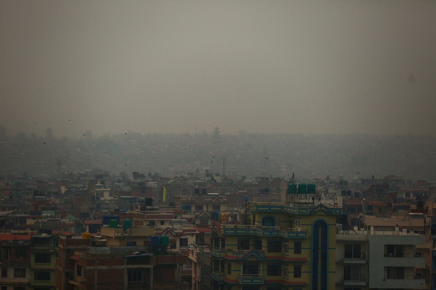 Central Nepal engulfed in smoke