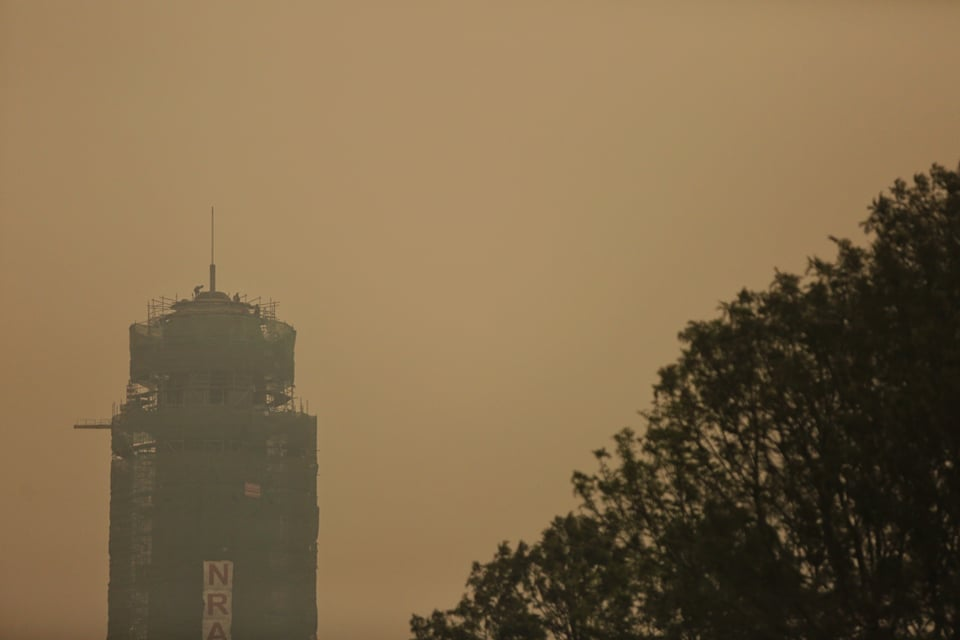 Wildfires in Nepal cause air quality to plummet