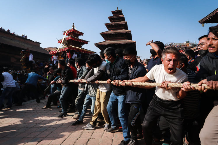 Biska celebrations begin in Bhaktapur on Saturday following the Supreme Court's order allowing the festival to be observed despite the first signs of the second Covid wave in Nepal.