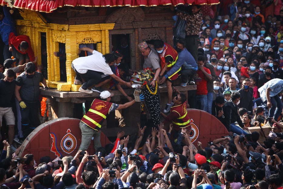 Biska celebrations begin in Bhaktapur