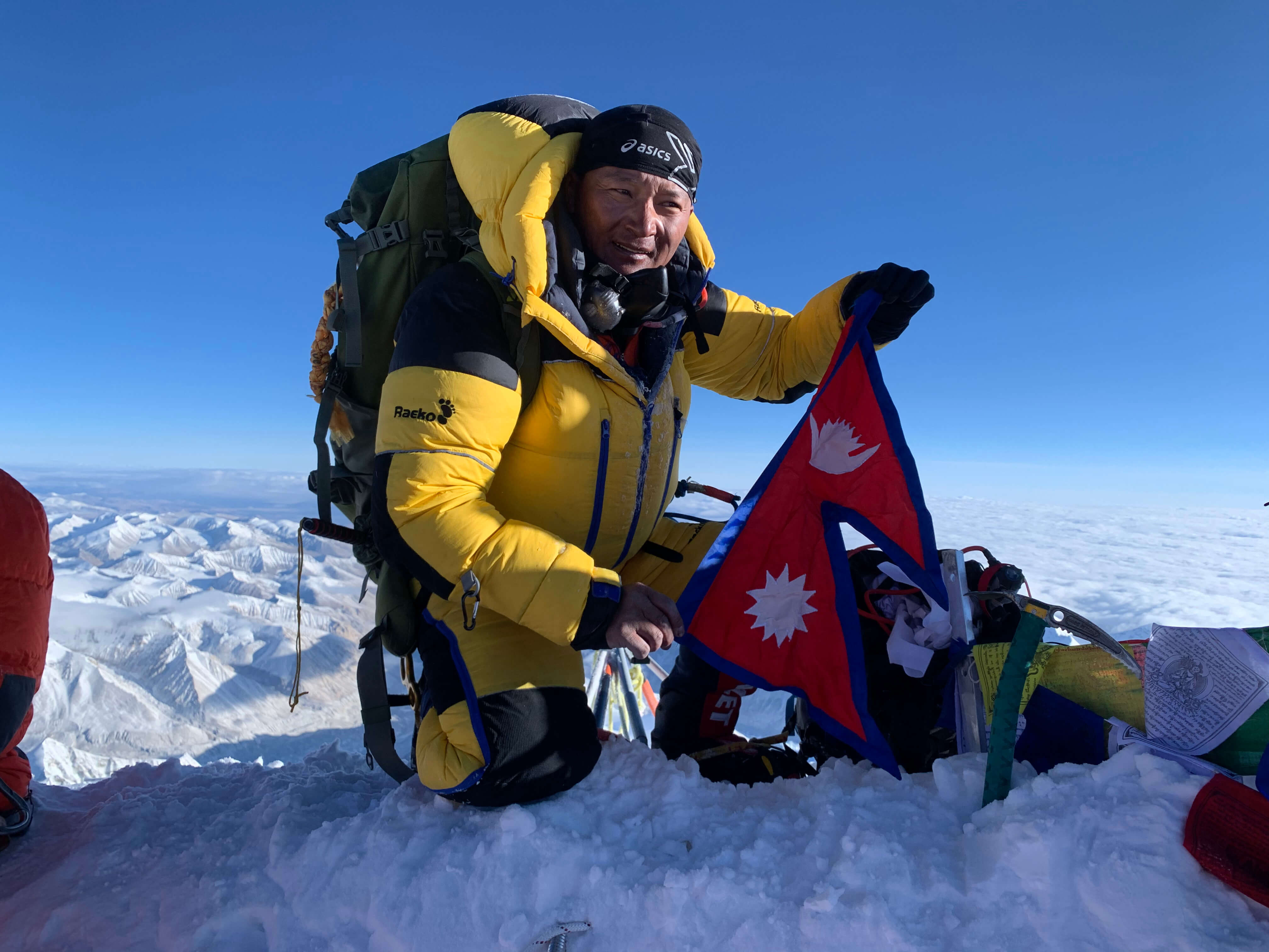 Overcoming Mt Everest and Covid-19