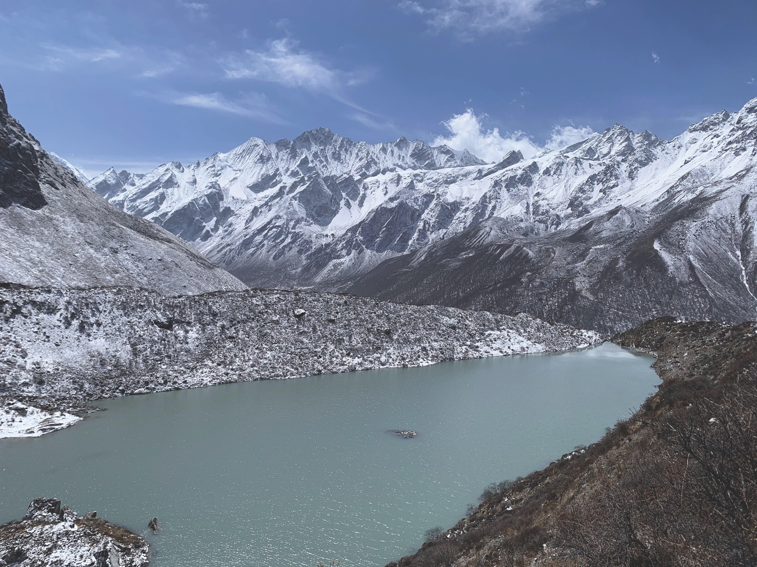 Nepal's first hydropower from a glacial lake