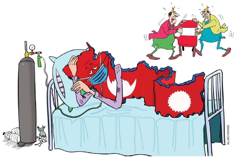 Nepal is a hotbed of virus and politics