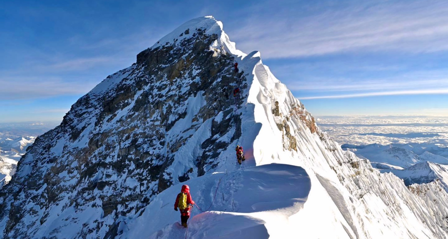 Yaas stops Everest climbers at Camp 2