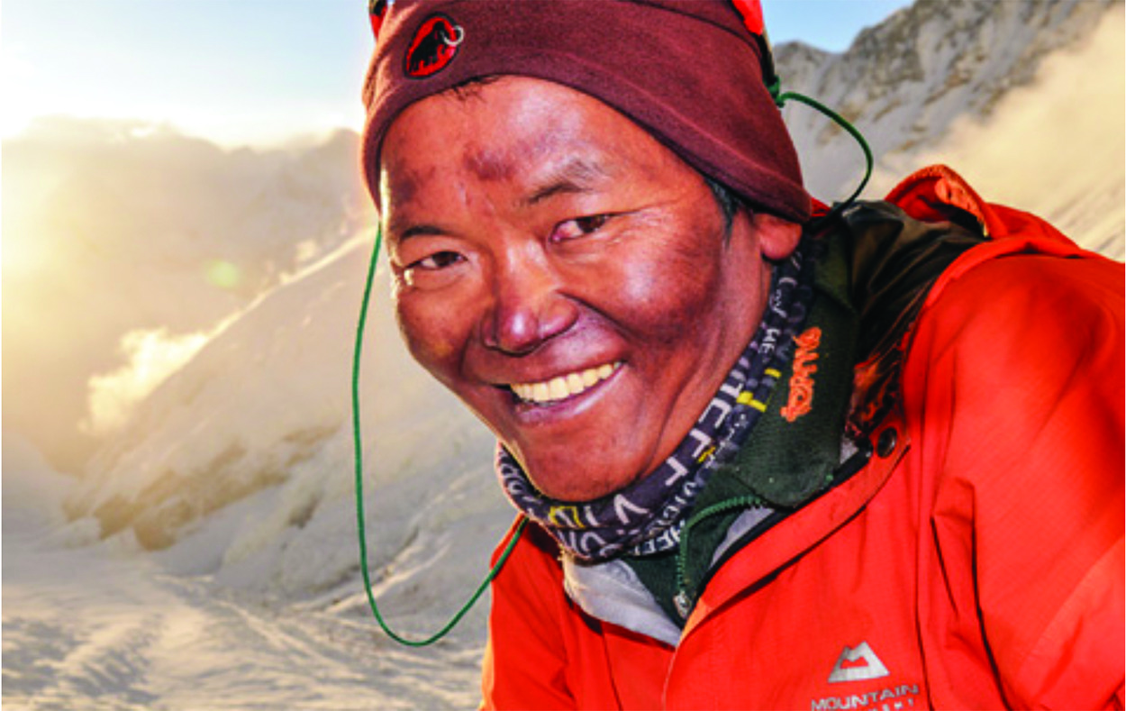 Why are Sherpas always happy?