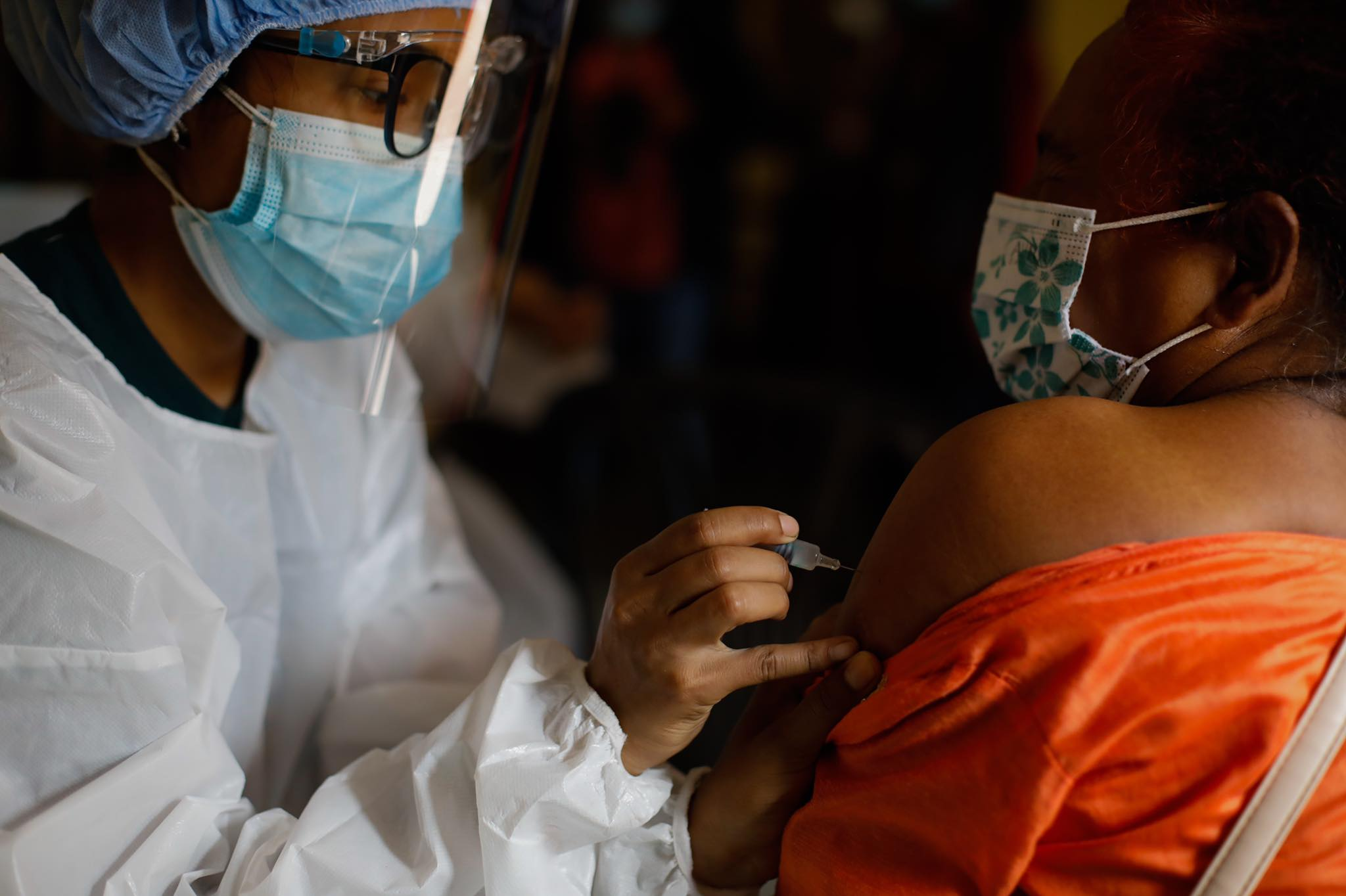Nepal's Covid vaccination drive resumed on Tuesday, with Kathmandu Valley residents aged 60-64 receiving their first dose of the Sinopharm VeroCell vaccine. 1 million doses of the vaccine were assured to Nepal under grant by the Chinese government in late May.