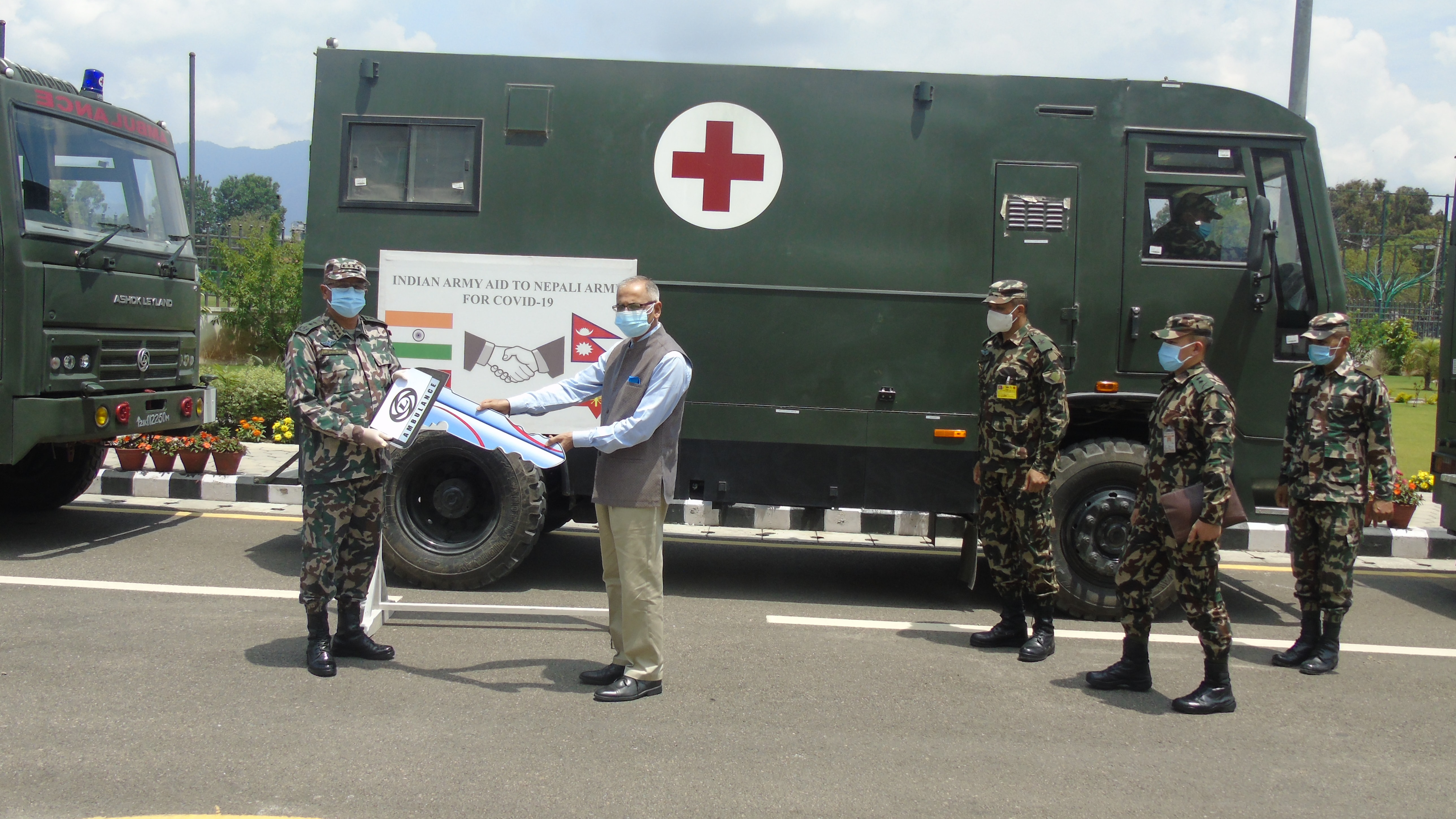 Indian Army Covid Support
