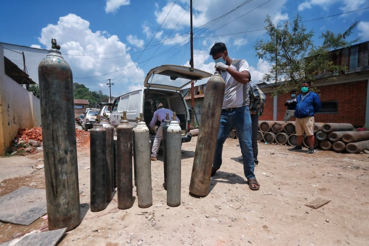 Oxygen for Nepal