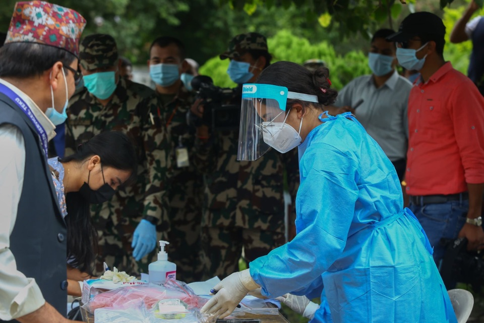 Nepal's doctors are like soldiers fighting a war