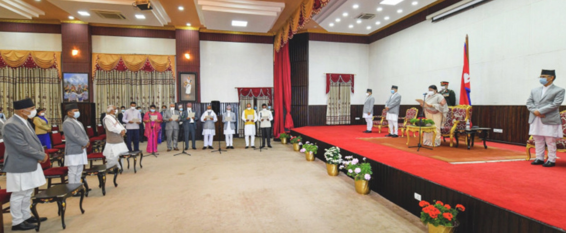 Nepal government reshuffle during pandemic