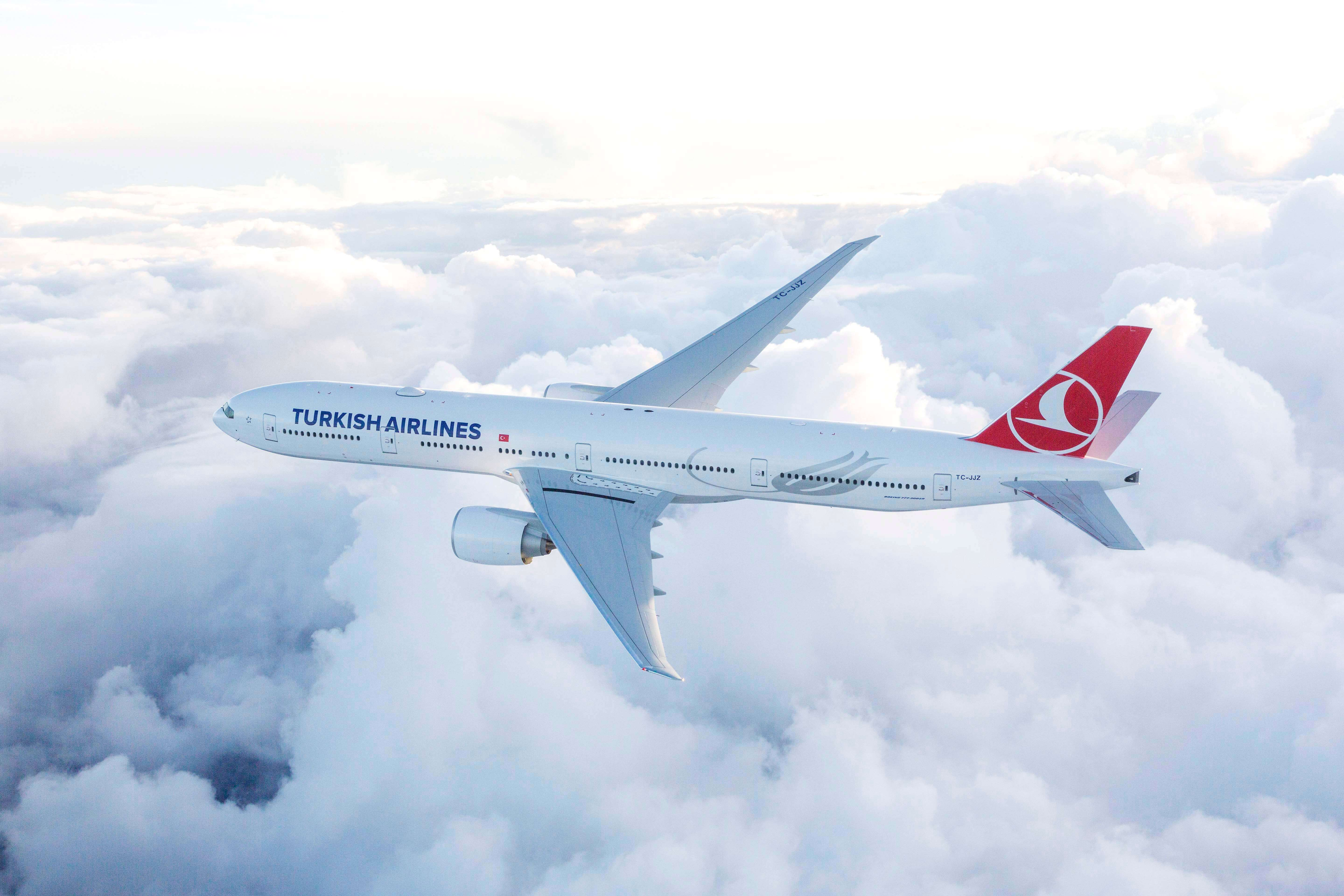 Turkish Airlines' new route to New Jersey