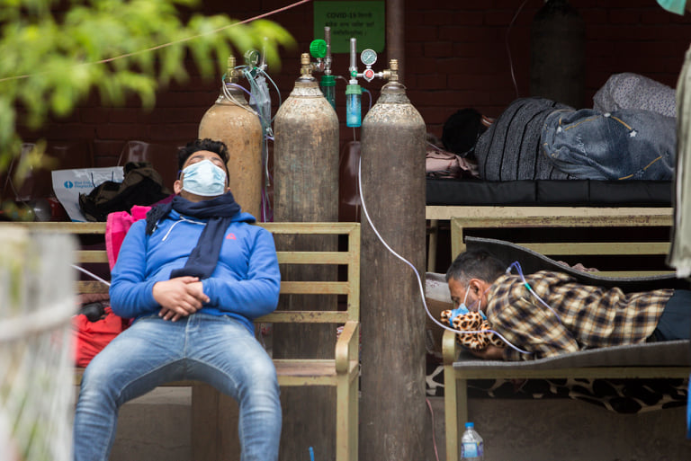 Pandemic and the political-economy of oxygen supply