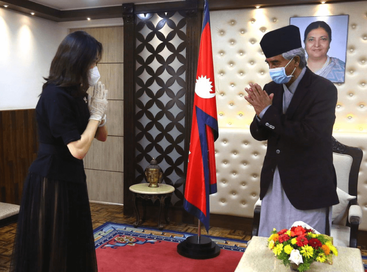 China reacts to Nepal regime change