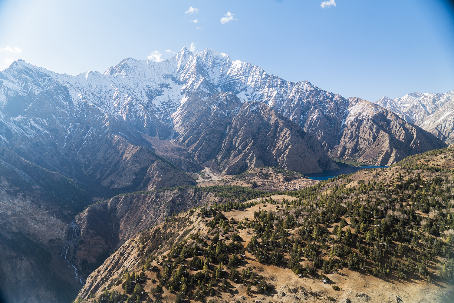 Climate change is a disaster in the Nepal Himalaya