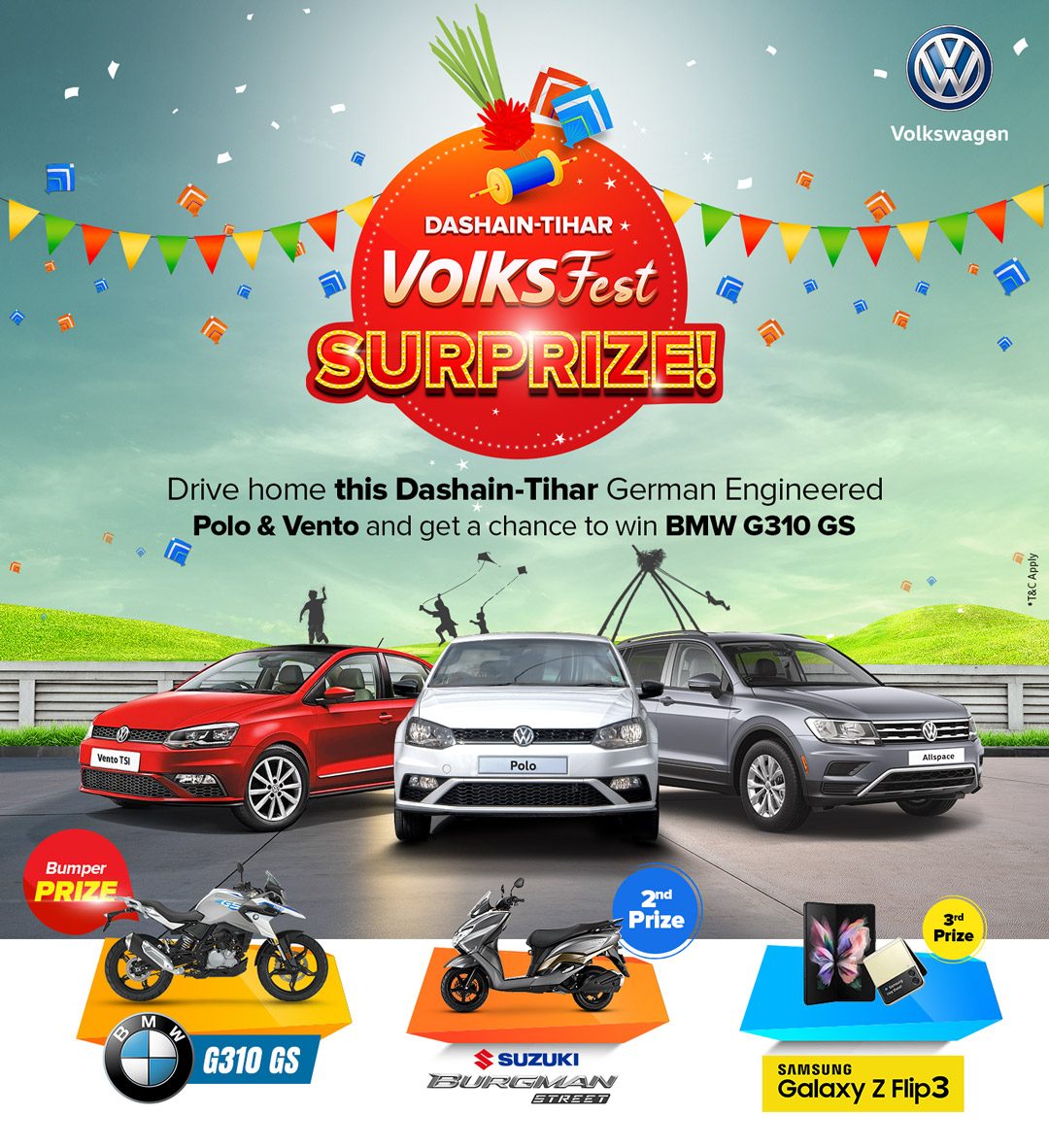 VW double offers