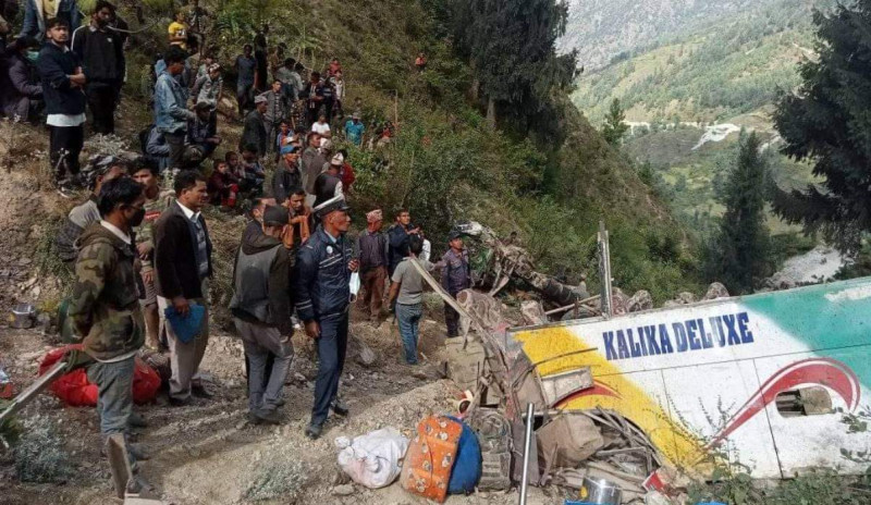 Deadly Dasain on Nepal's highways